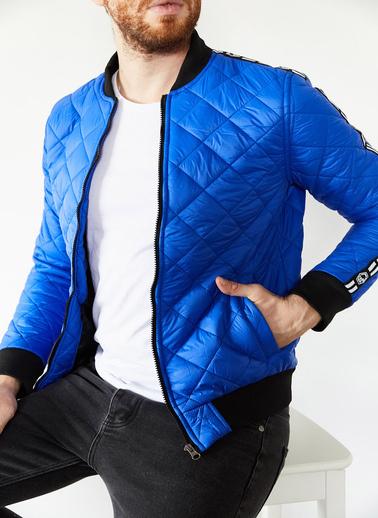 XHAN Hardal Şeritli Mont 1Kxe4-44152-37 Mavi